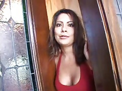 Milf models those big titties for her lover tubes