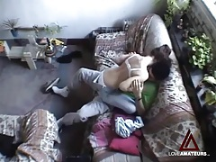 Hidden cam films teen couple having hot sex tubes