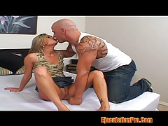 Hot blonde adriana sucked huge cock and fukced hard tubes
