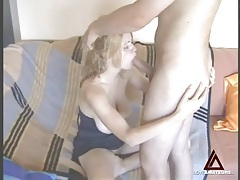 Beautiful big natural tits on blonde he fucks tubes