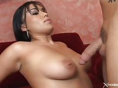 Curvy babe balled in her shaved pussy tubes