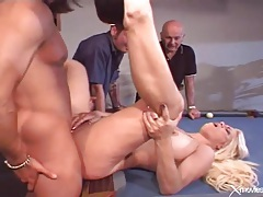 Horny wife fucked by a stud in front of husband tubes
