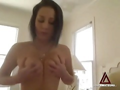 Teenager with a gorgeous ass fucked in bald pussy tubes