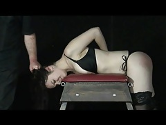 Cute bound girl gets a good flogging tubes