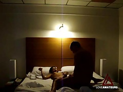 Sex in a classy hotel room with cute asian girl tubes