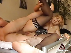 Pierced pussy amateur takes a hot creampie tubes