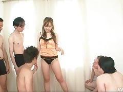 Guys with toys turn on the cute japanese girl tubes