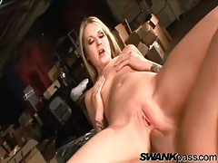 Young asshole of a skinny blonde fucked hardcore tubes