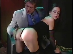 Spanking a slut and fucking her pretty face tubes