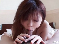 She sucks and licks him to erection and they fuck tubes