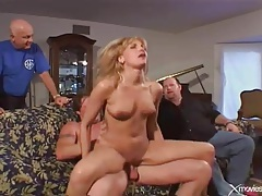 Wife takes creampie in her cunt from another man tubes