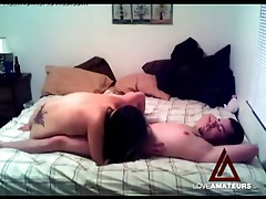 Boyfriend fucking his cute gf with a big ass from behind tubes