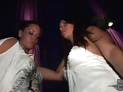 Dancing and upskirts with party girls tubes