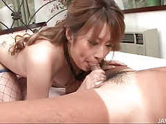 Sucking and sitting on small dick lustily tubes