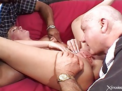 His wife blows a new dude and gets laid tubes