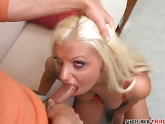 Penetrating the throat of a bitch in boots tubes