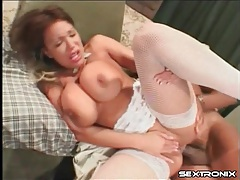 Creampie in the whore asshole of ava devine tubes