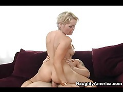Watch slutty milf ass while she bounces on cock tubes