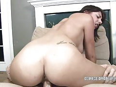 Horny coed mina is getting fucked tubes