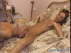 Perky tits on lean ladies that love lesbian pussy tubes