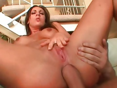Anal threesome with foot fetish flavor tubes