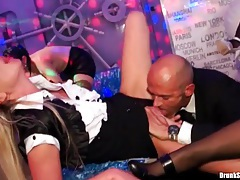 Lesbian licking and fucking with drunk party girls tubes