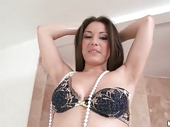 Solo girl caresses and teases her hot ass tubes