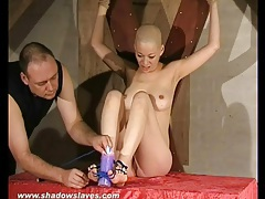 She feels genuine pain in a bdsm video tubes