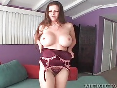 Sexy june summers sucks big cock in pov tubes
