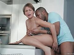 Fucking beautiful housewife with big cock tubes