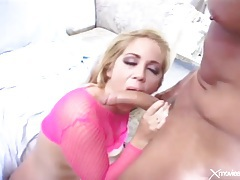 Blue eyed blonde girl is a crazy anal whore tubes