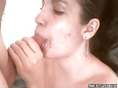 Young chubby latina sucks cock tubes