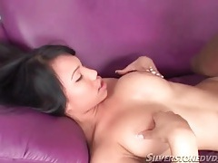Titjob from horny asian includes cocksucking tubes