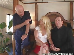 Kinky swinger wife enjoys a stranger tubes