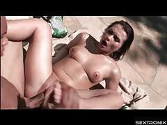 Katja kassin outdoor blowjob and hardcore sex tubes