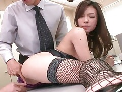 Coworker fingered and licked by her men tubes