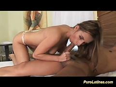 Latina babe gets long cock sex tubes