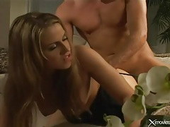 Wet blowjob and erotic hardcore with a beauty tubes
