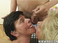 Young boy receives real thorough sex education from two moms tubes