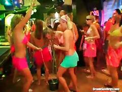 Bikini bodies on incredible chicks in the club tubes