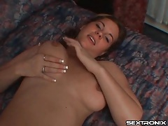 He fingers chubby chick that sucks his dick tubes