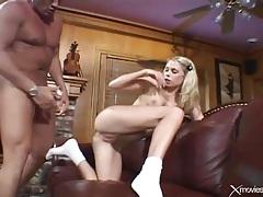 Teen schoolgirl likes hard dick in her pussy tubes