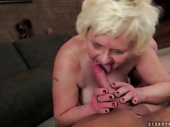 Tight hole of horny mature blonde banged tubes