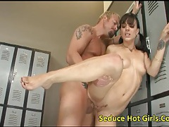 Extremely hot golden-haired kirra lynne carry out threesomes and share a single cock tubes