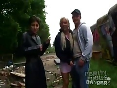 Construction site sex with sultry german girls tubes