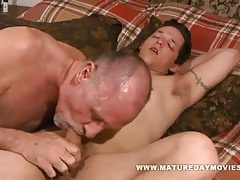 Young guy fucks some old ass tubes