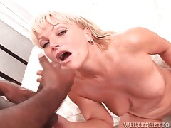 Black dicks shoot jizz on the faces of white girls tube