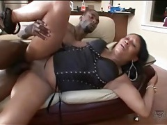 Black lingerie on black girl getting fucked tubes