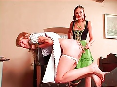 Cute costume girls in ass spanking video clip tubes