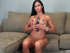 Fit pornstar jewels jade sits cunt on dildo tubes